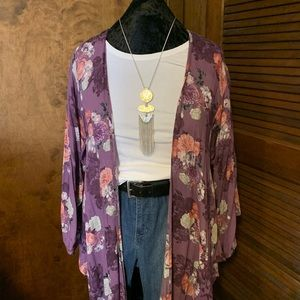 Torrid Kimono Jacket